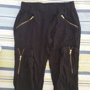 Xoxo black ankle pants